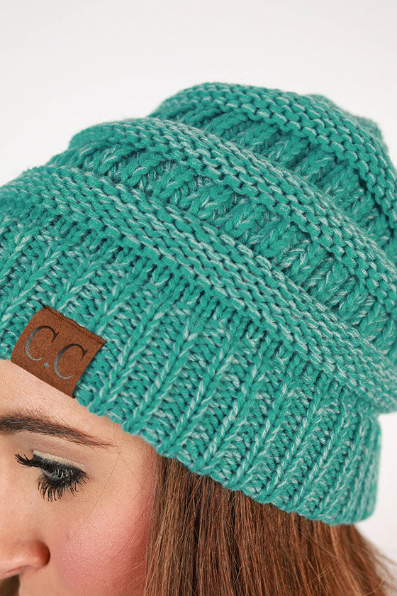 Beanie Beautiful in Aqua Sky Blend
