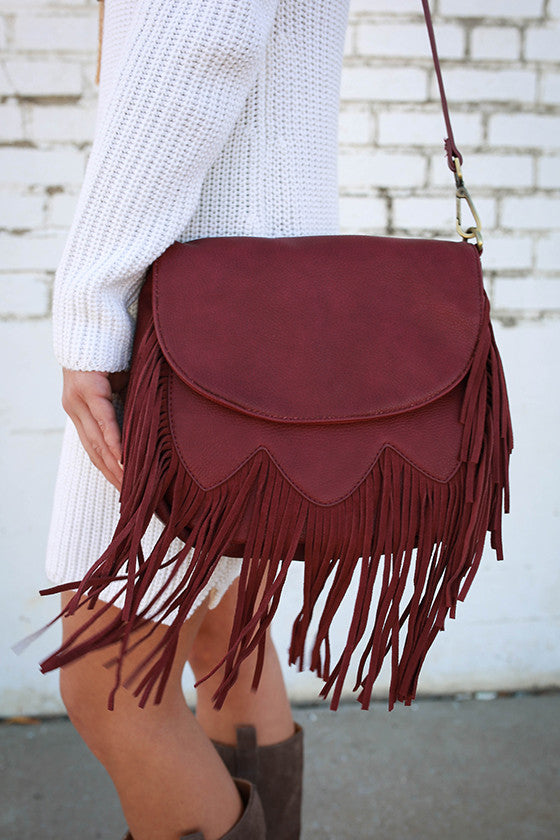 Faithful Fringe Crossbody Bag