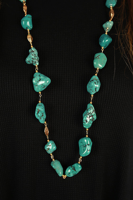 Winter Park Stone Necklace