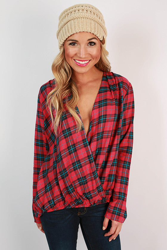 Countryside Plaid Top