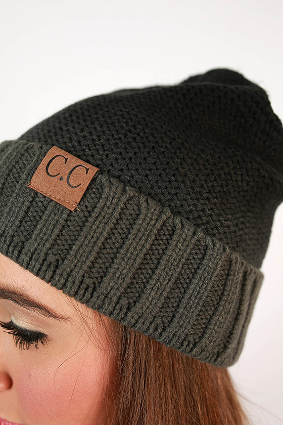 Beanie Beautiful Ombre in Black