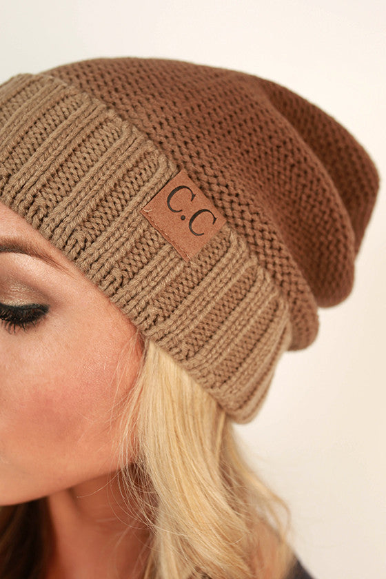 Beanie Beautiful Ombre in Brown