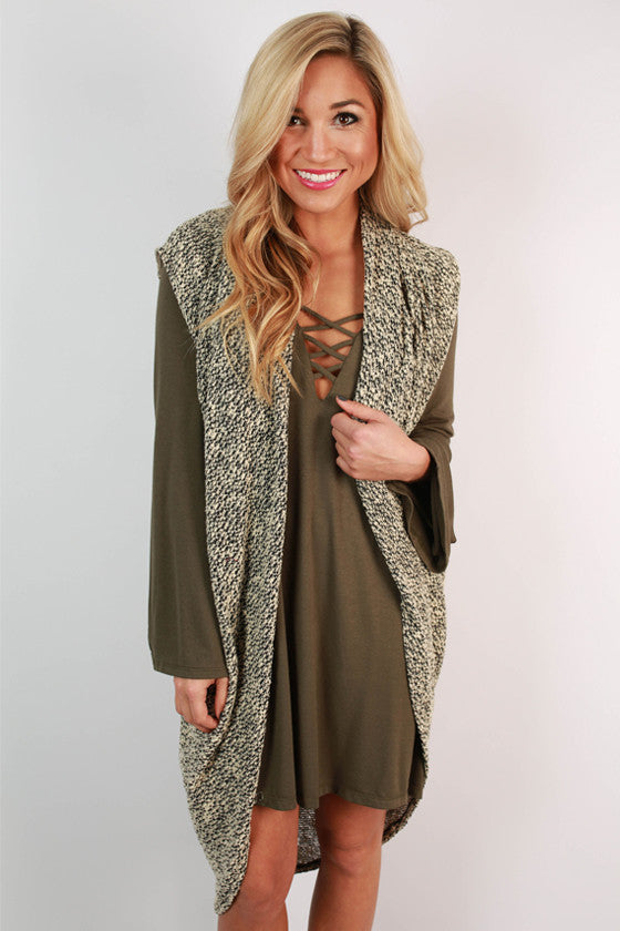 Coffee Cozy Cardigan