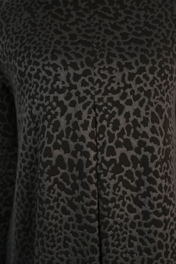 June Leopard Dress