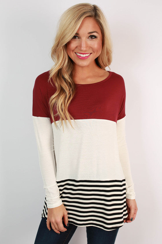 Tonic & Stripes Top
