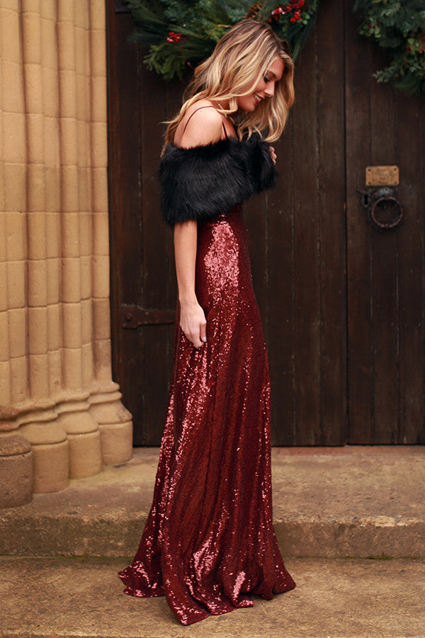 The Grand Entrance Maxi Dress