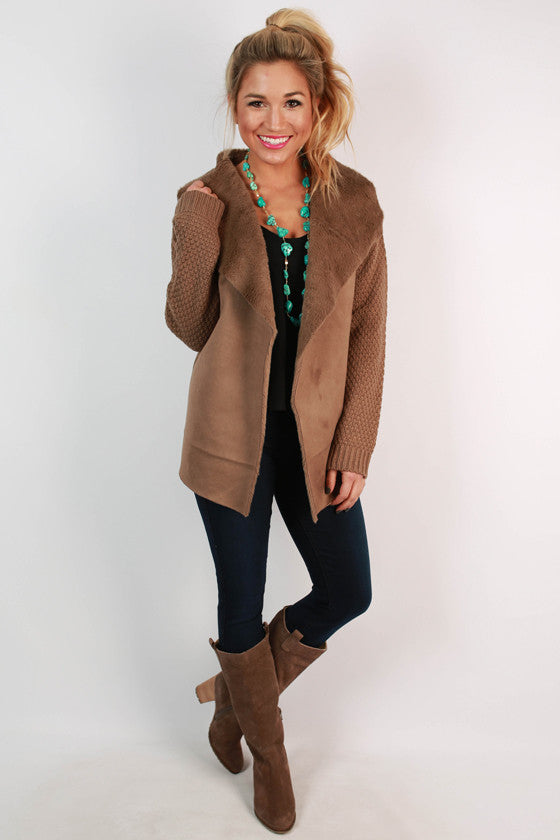 The Coziest Of Travels Cardigan