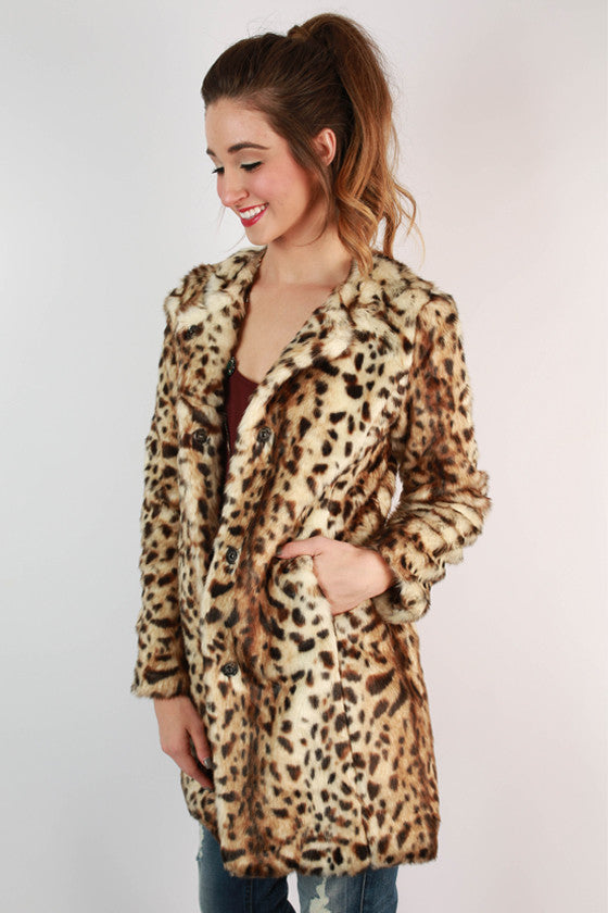 Fashion Week Cheetah Coat