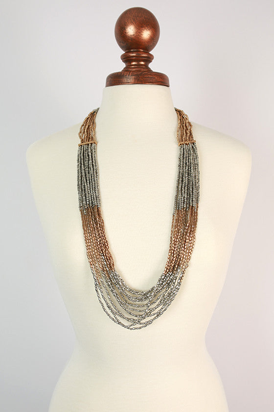 Fashion Week Layered Necklace