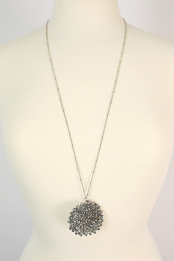Sparkle For Days Necklace in Silver