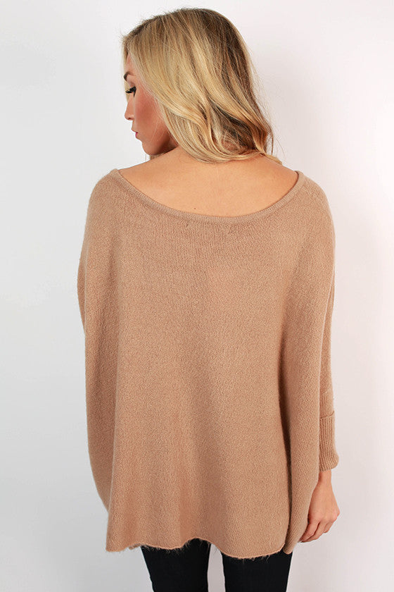 Latte of Cozy Sweater in Taupe