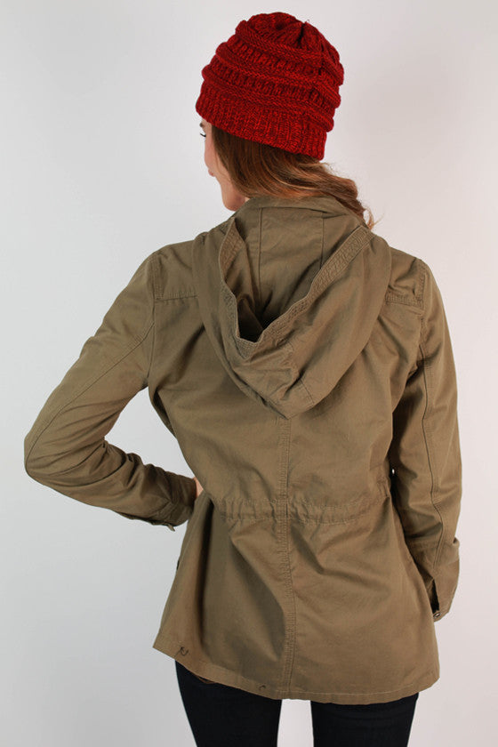 Travel Time Cargo Jacket