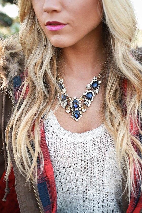 Sapphire Sweetness Necklace