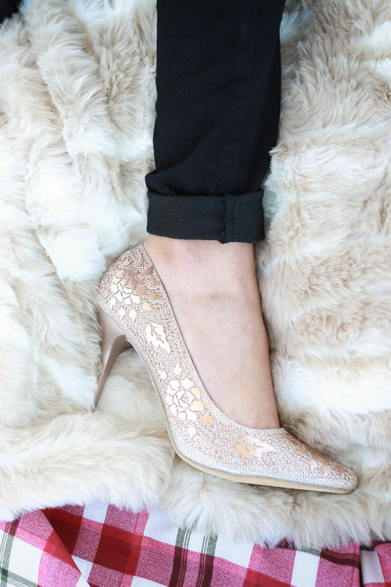 Champagne Sparkles Heel