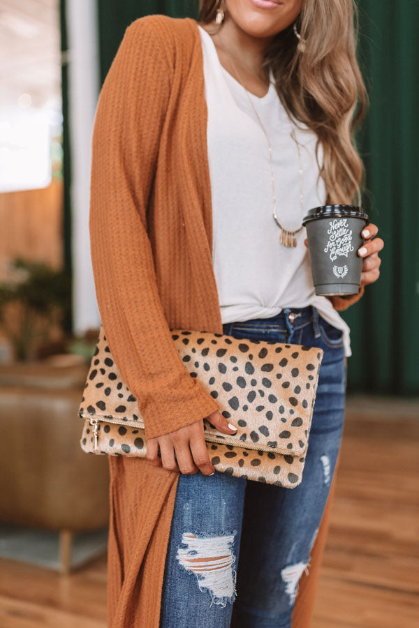 Cheetah So Chic Clutch