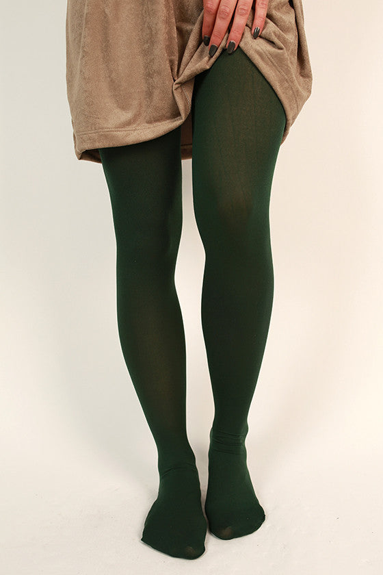 Classic Tights in Forest