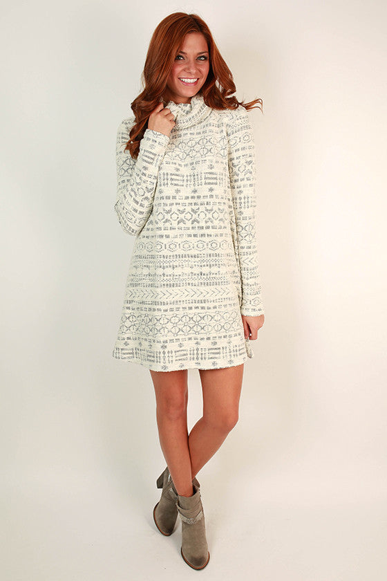 Weekend in Winter Park Shift Dress
