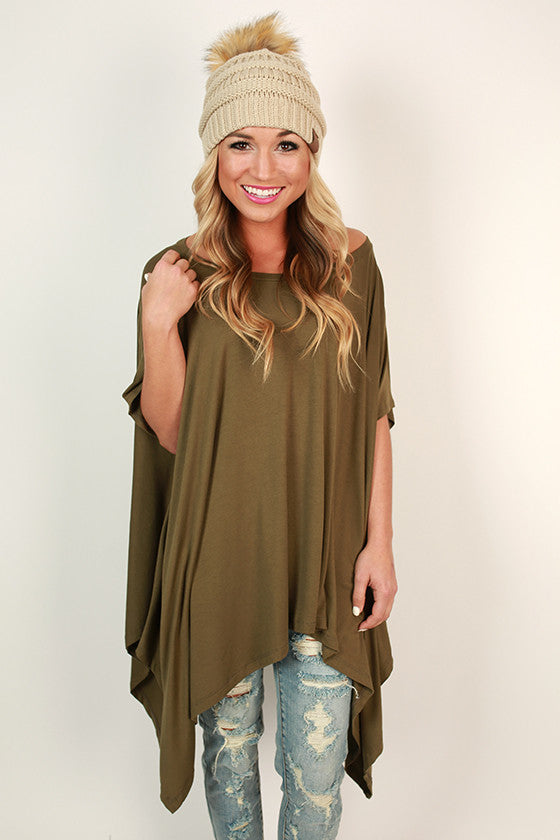 Road Less Traveled Tunic in Sage