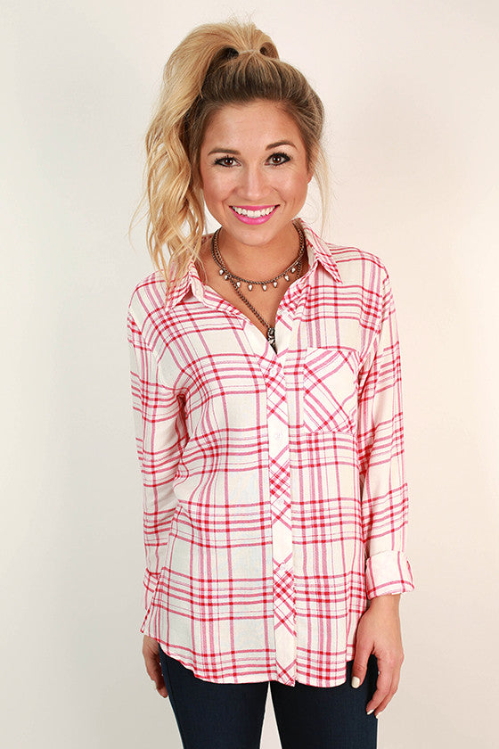 Rockefeller Plaid Button up