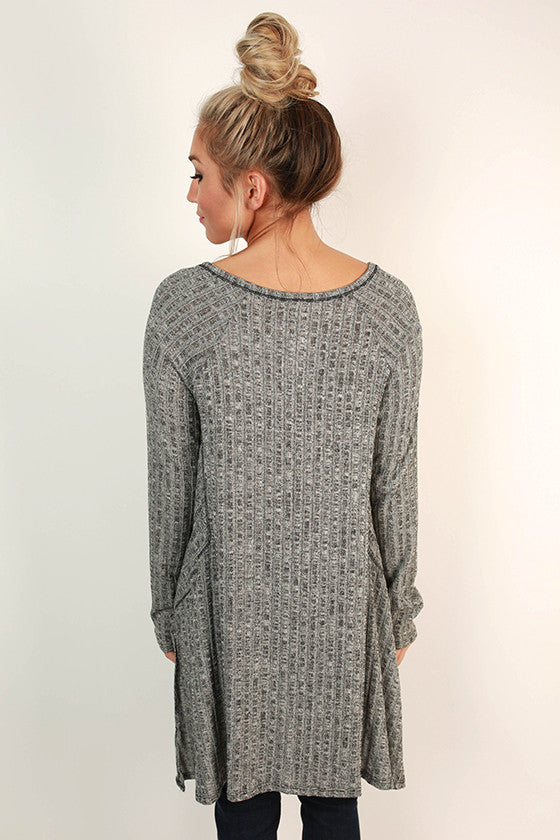 Sweet and Cozy Henley Top