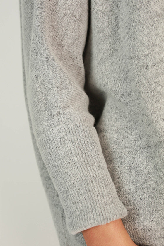 Latte of Cozy Sweater in Grey