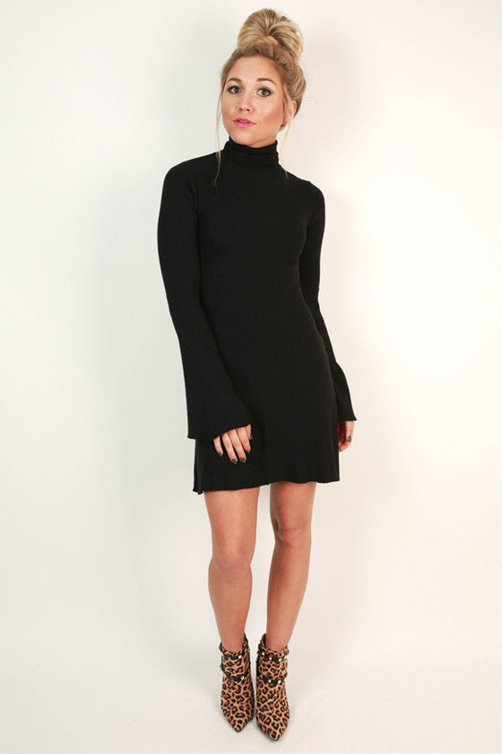 Gracefully Yours Dress in Black