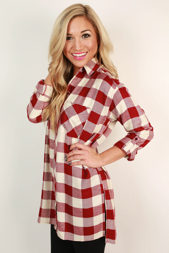 Cozy Up Fireside Tunic