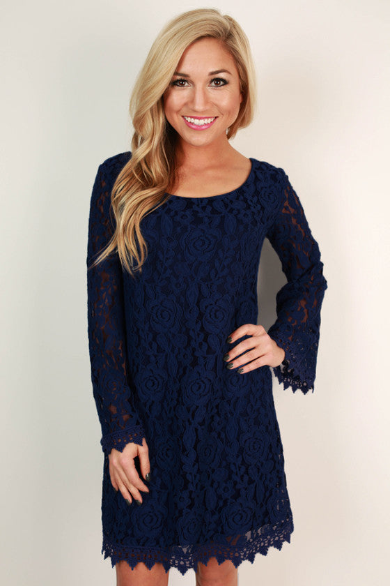 All's Fair In Love and Lace Dress