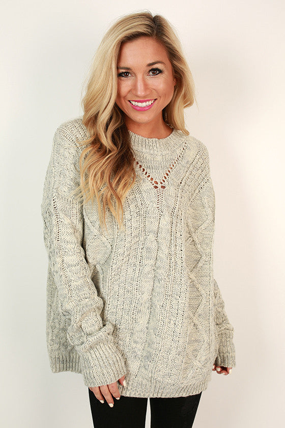 The Scenic Route Sweater