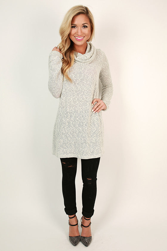 Swiss Alps Sweetheart Tunic