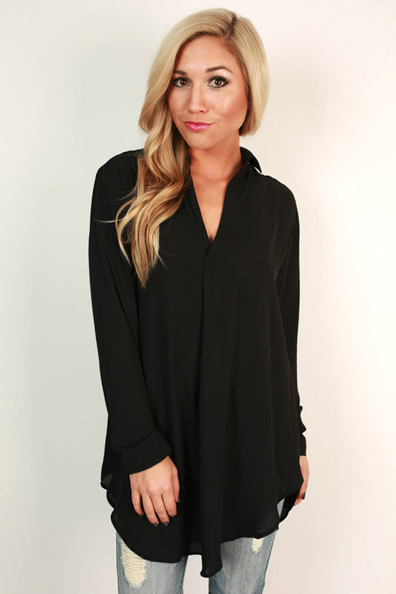 Make Way For Beautiful Top in Black