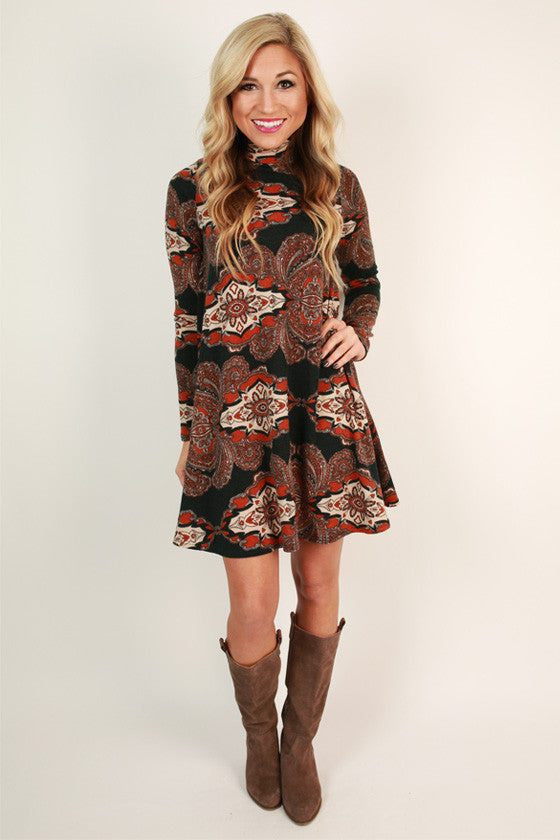 Fall Festival Swing Dress