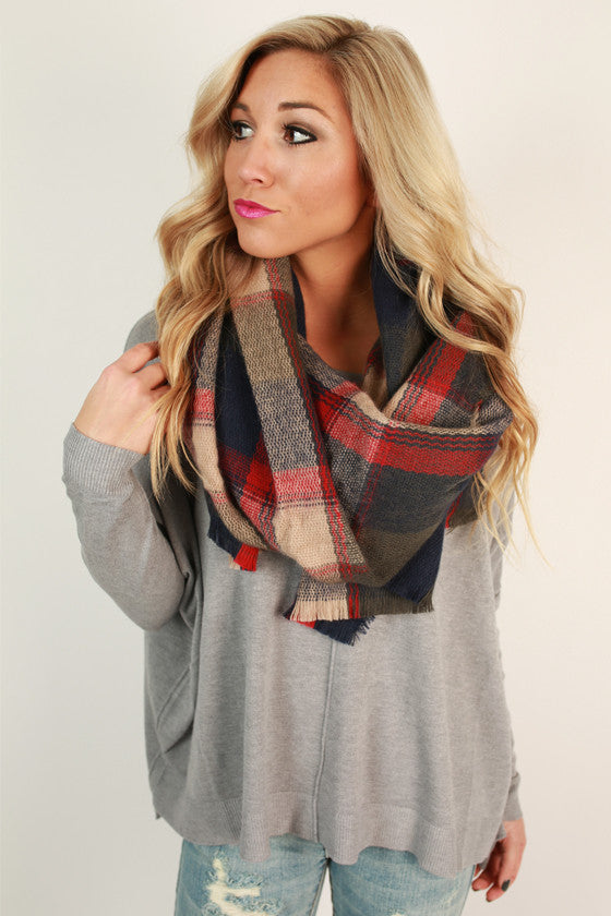 Flannel Babe Scarf