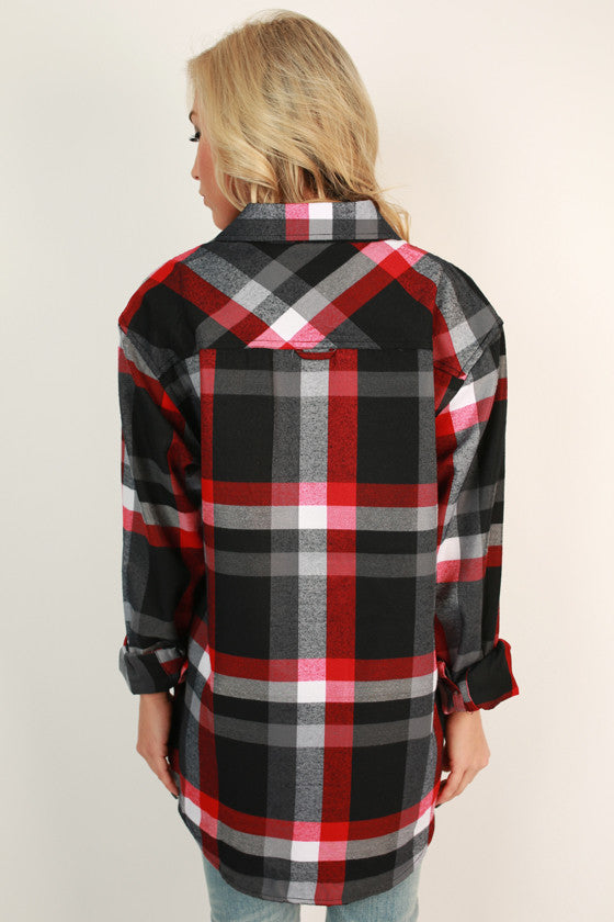 Cozy For Days Unisex Plaid