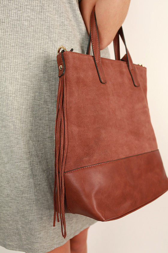 The Downtown Tote Bag in Maple