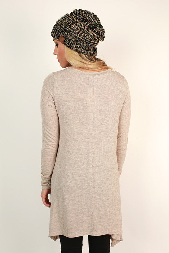 Swing On By Tunic in Stone
