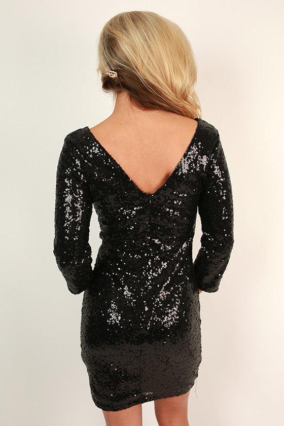 Sequins For Days Dress