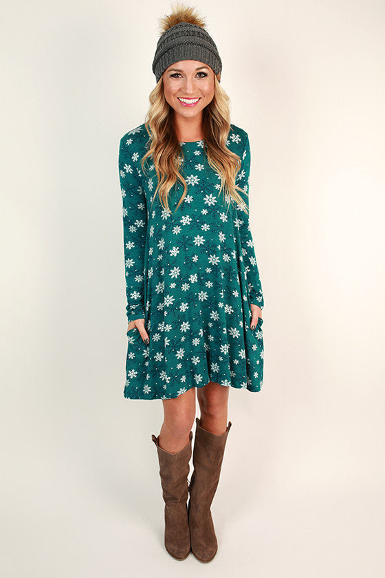 Baby It's Cold Outside Shift Dress