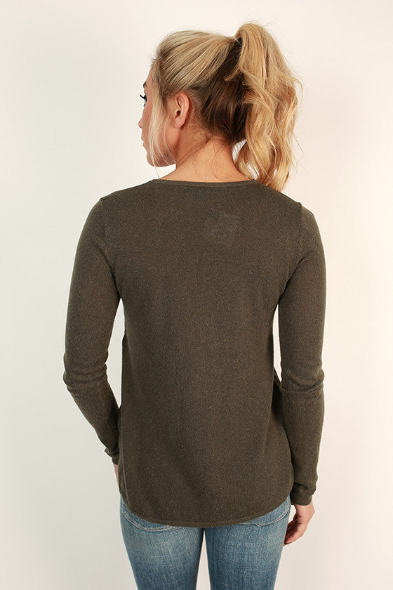 Office Party Faux Suede Top