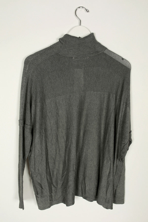 Slopes & Sweetness Sweater in Dark Grey