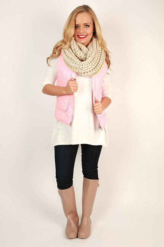 Mountain Bound Quilted Vest