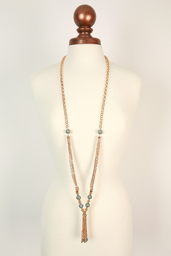 Gatsby Glam Pearl Necklace