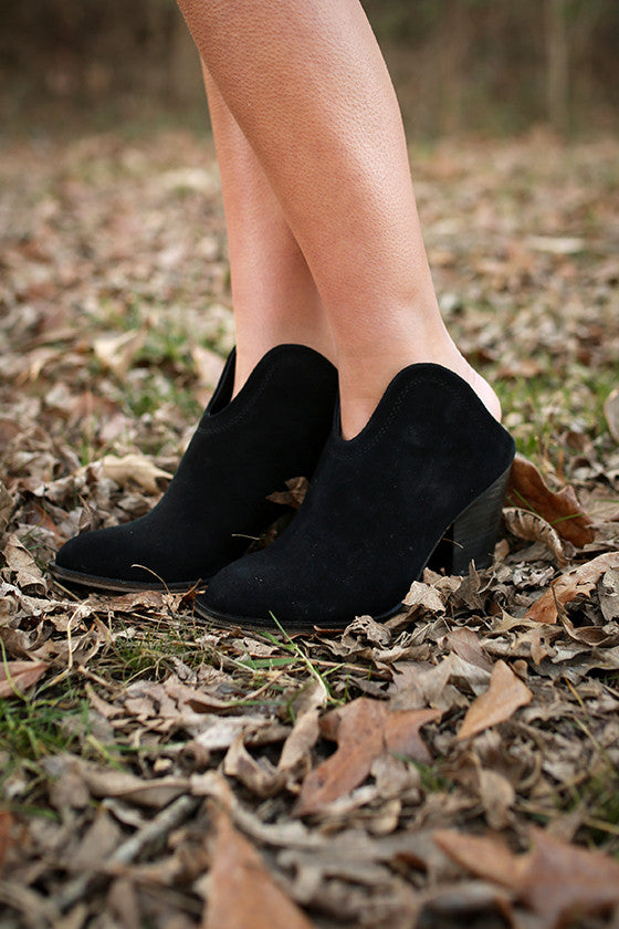 Kelso Ankle Bootie in Black