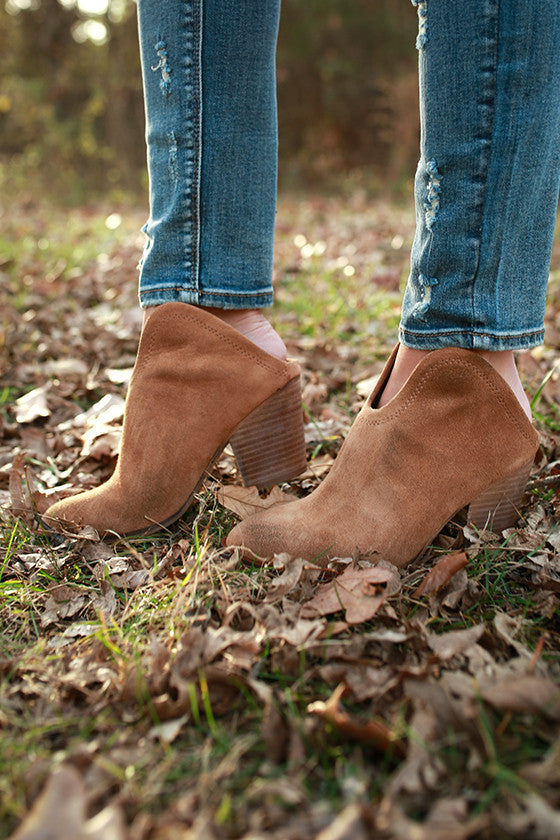 Kelso Ankle Bootie in Tan