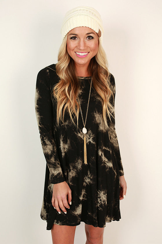 Southern Sweetness Shift Dress in Black