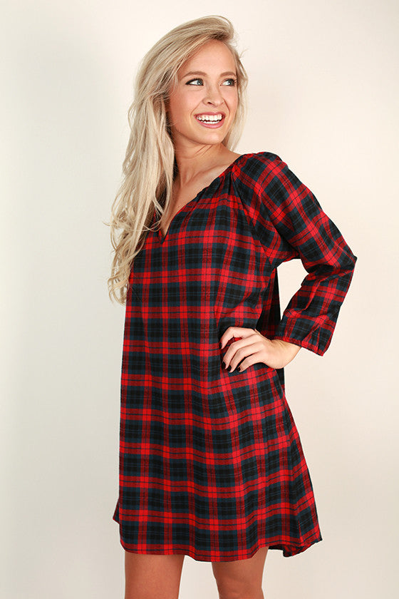 Southern Prep Plaid Tunic
