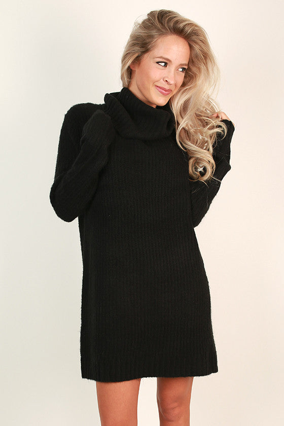 Swiss Alps Sweater Dress