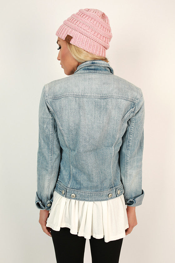 Taylor Denim Jacket in Coachella