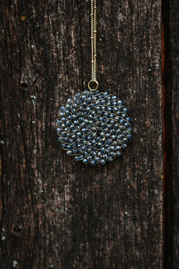 Sparkle For Days Necklace in Sapphire