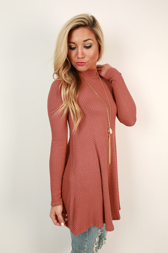 Beverly Hills Tunic in Light Rust